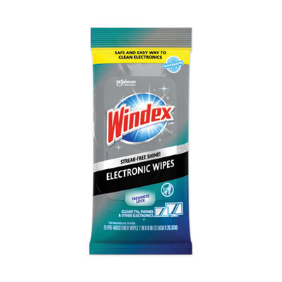 WINDEX ELECTRONICS CLEANER WIPES