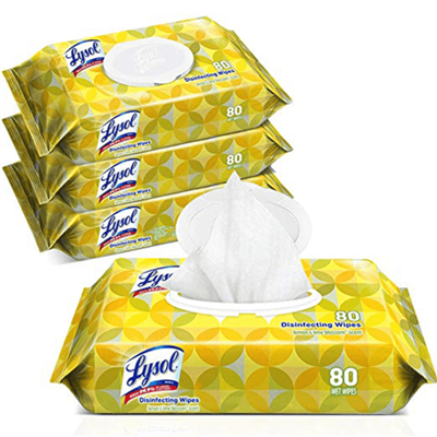 LYSOL DISINFECTING WIPES FLATPACKS 6.75 X 8.5