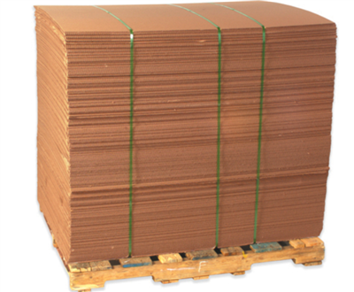 24 X 36 CORRUGATED SHEETS 32#ECT KRAFT PLAIN